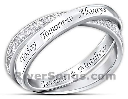 Cheap Promise Rings Under 100, Couples Promise Rings Under 100 Dollars  RiverSongs For Girlfriends