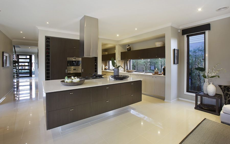 The burleigh home browse customisation options for Metricon kitchen designs
