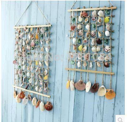 Pin De Ana Maria Slebi En Curtain Ideas For Bondi Artesanía Con Conchas Artesanías Con Conchas Marinas Decoración De Unas