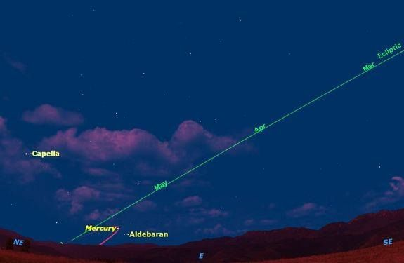 Spot Elusive Planet Mercury in the Predawn Sky This Week ...