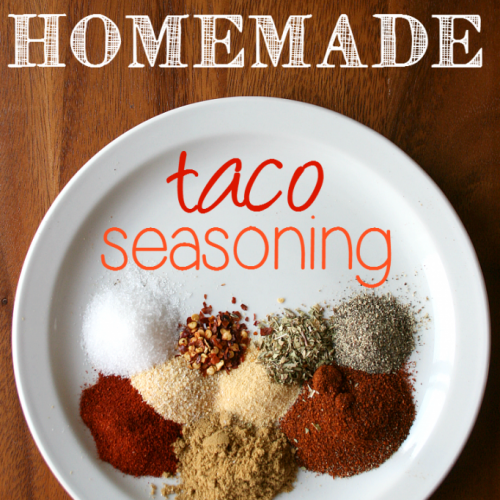 DIY Homemade Taco Seasoning #diytacoseasoning