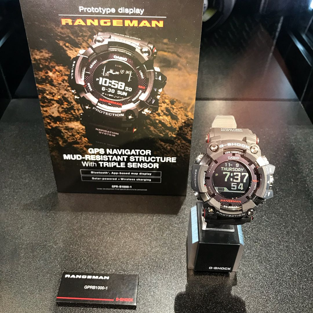 6f1566beea8 G-Shock Rangeman GPR-B1000-1 with GPS Navigation System – G-Central G-Shock  Watch Blog