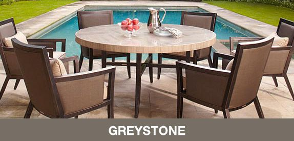 brown jordan patio furniture greystone collection exclusively for rh pinterest com