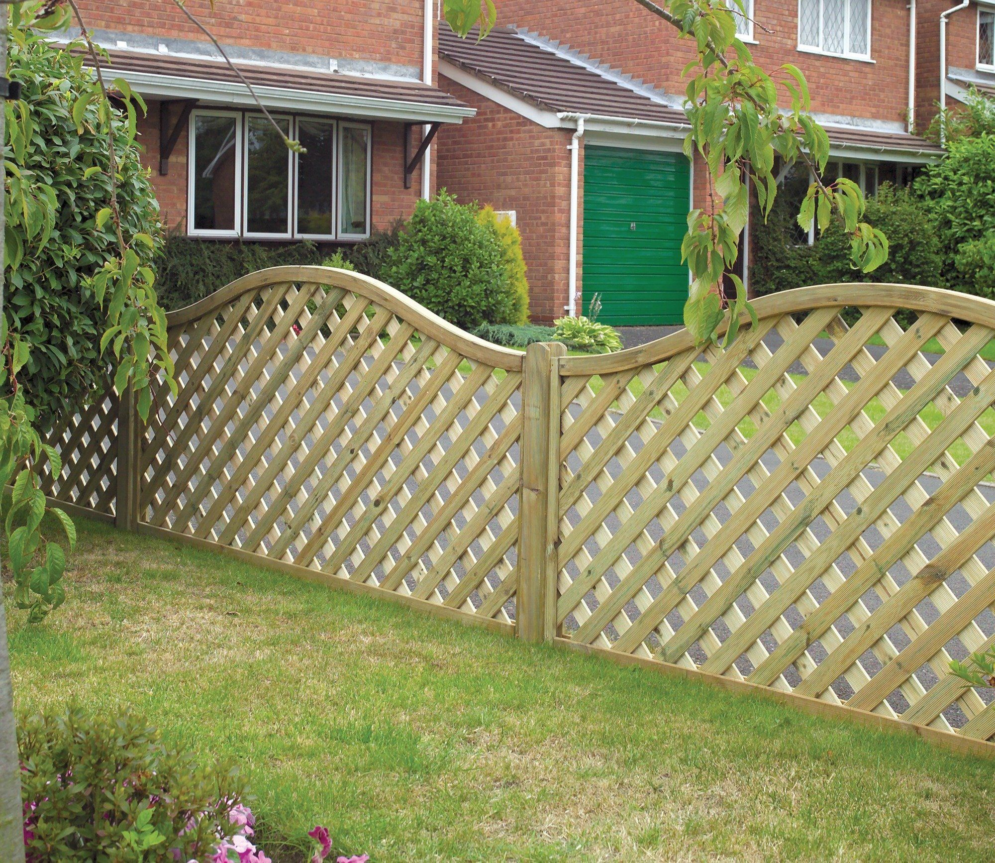 Grange Elite St Meloir 6ft x 3.5ft Trellis Panel | Gates, Fences and ...