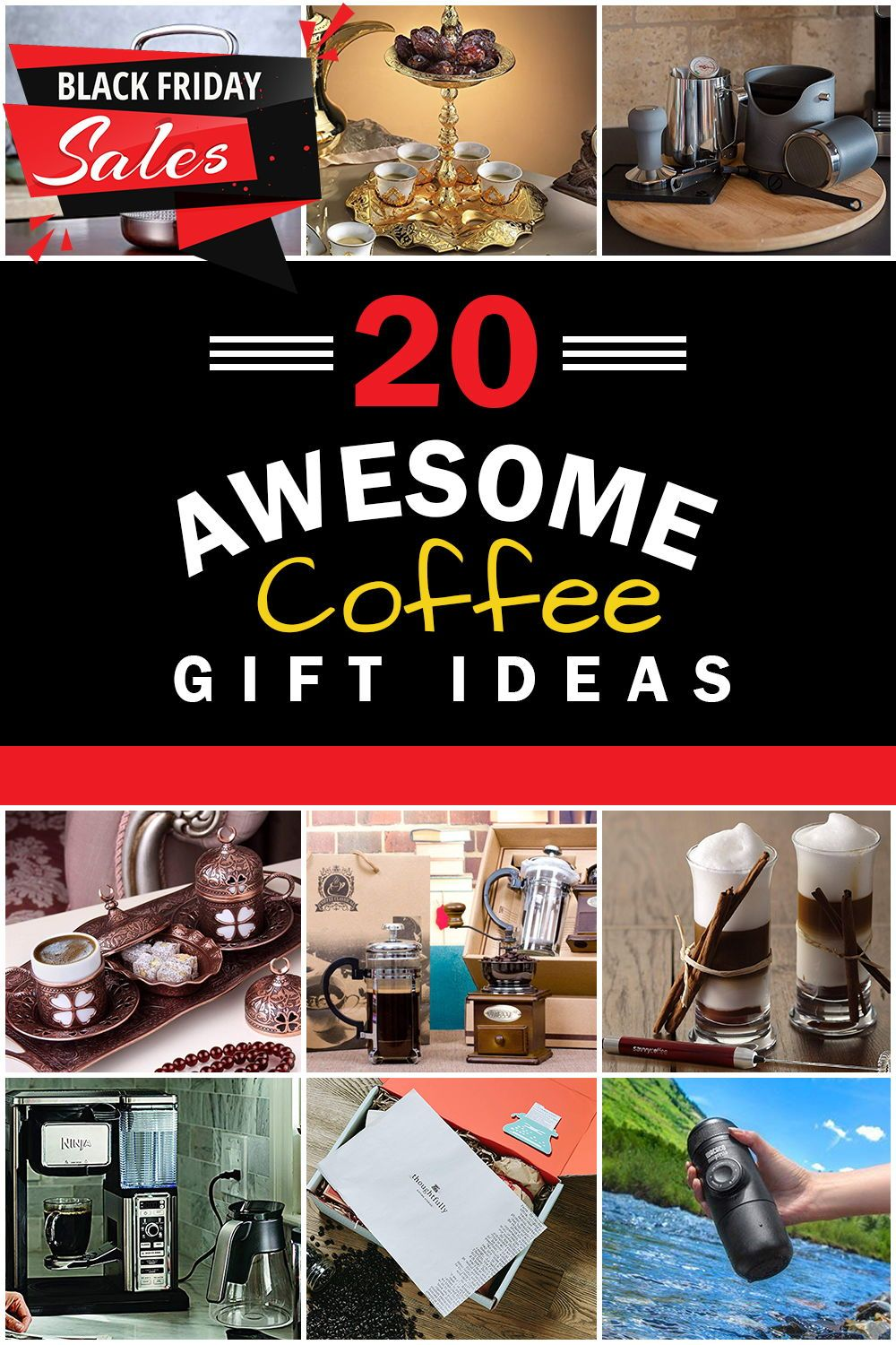 coffee accessory gifts, must have coffee accessories, best