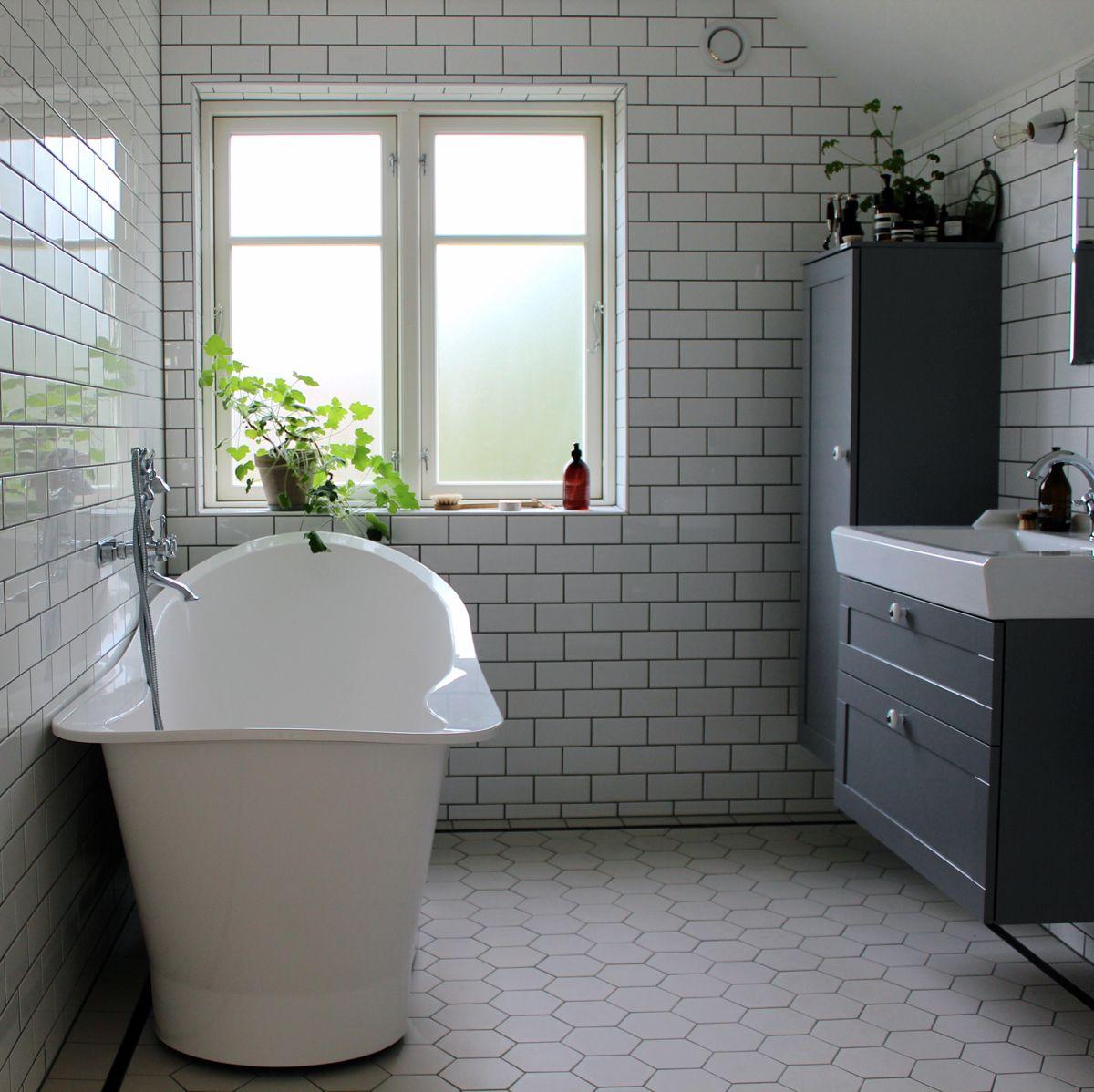 VÃ¥rt badrum – före & efter » Johanna Bradford | Badrum | Pinterest ...