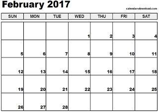 Free Printable Calendar February Calendar Printables August