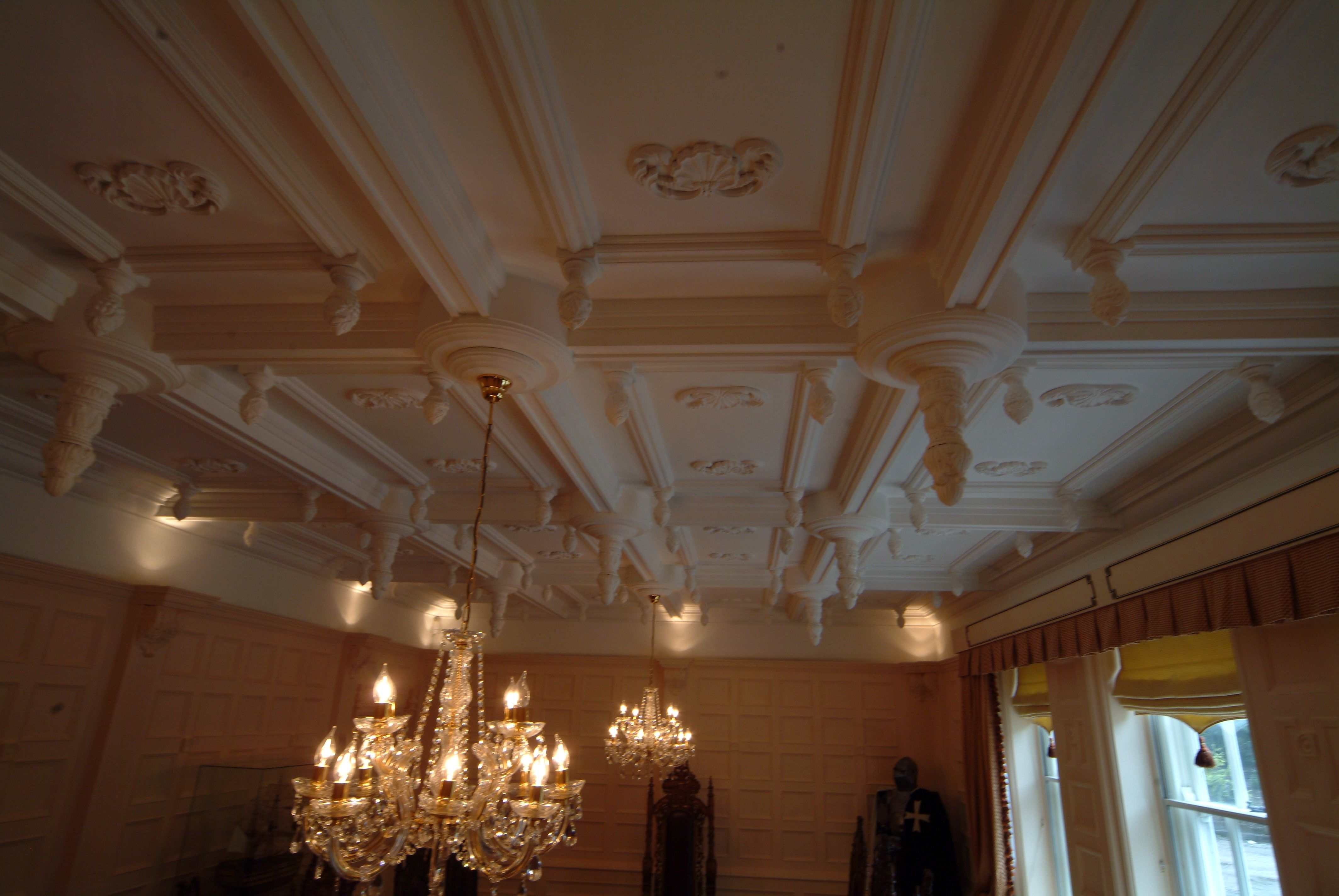up panelling unsightly artexed covering x ceiling hall pin an ceilings entrance paneling
