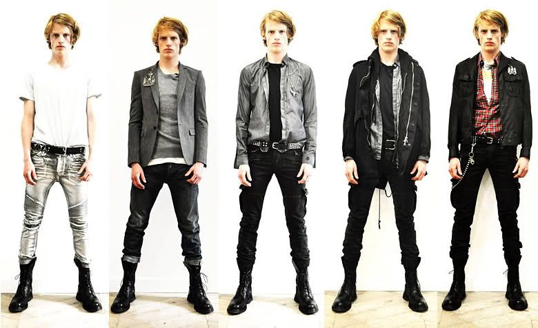 Punk Style | Johnu0026#39;s Style | Pinterest | Spring Collection Rock Style Men And Menu0026#39;s Fashion