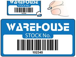 Scanmark Destructible Barcode Label Logo Full Design 19mm X 38mm Barcode Labels Sticker Labels Labels