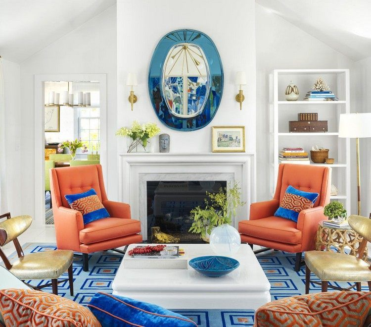 facility examples living room color of accents orange blue samples rh pinterest com