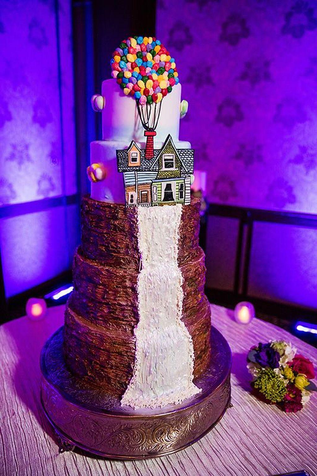 40 Stunning Wedding Cake Disney Theme Pinterest Disney Theme