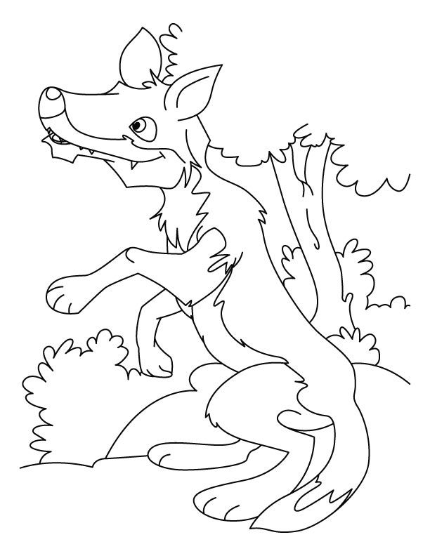 Free Printable Wolf Coloring Pages For Kids | Animal ...