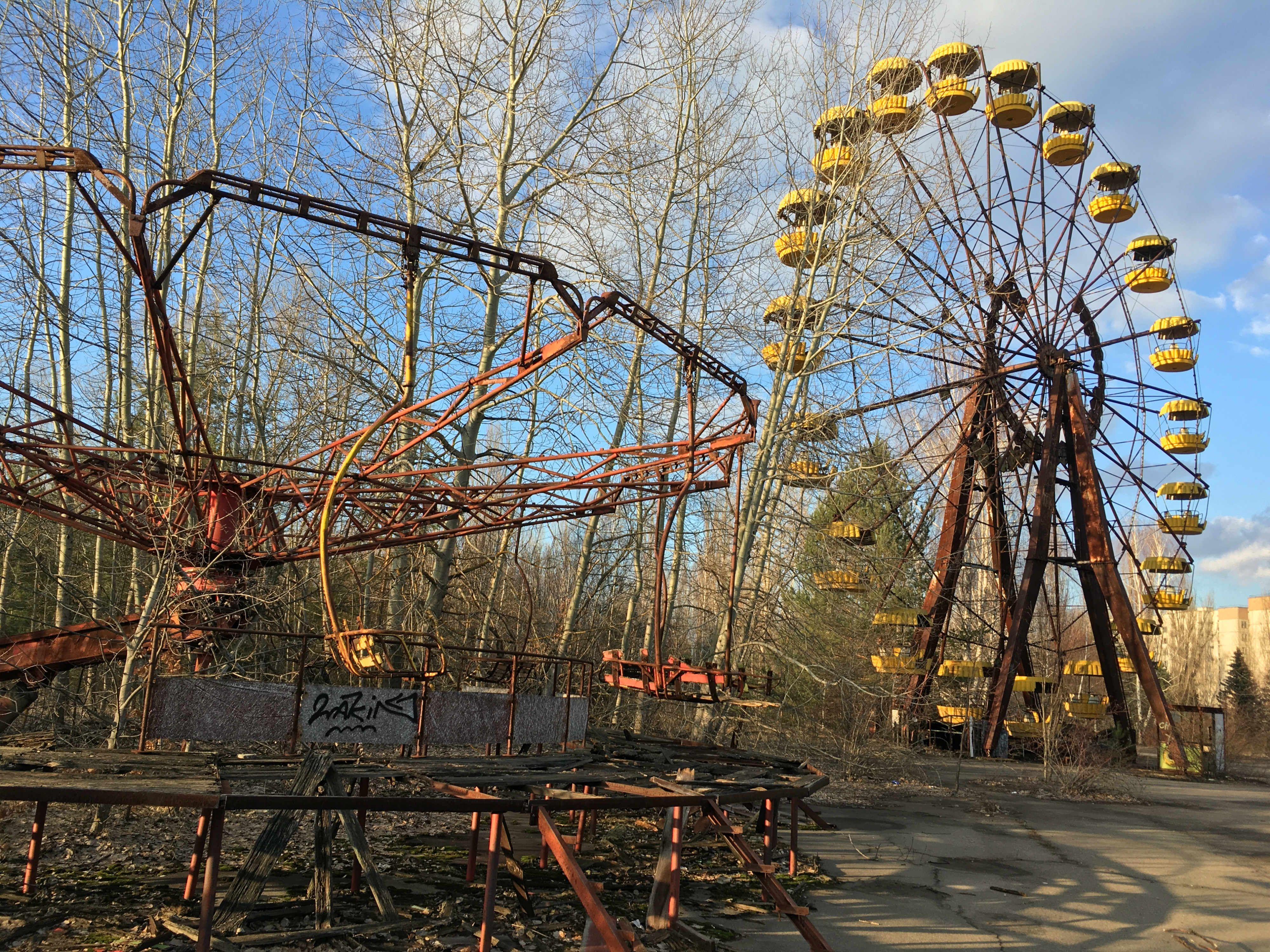 Inside Ukraine S Haunting Chernobyl Exclusion Zone Chernobyl