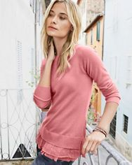 2d69255f9f Shirttail Cashmere Sweater | My Style | Sweaters, Cashmere, Cashmere ...