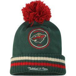 Minnesota Wild Mitchell   Ness Green Cuffed Knit Hat  e33522b82d2