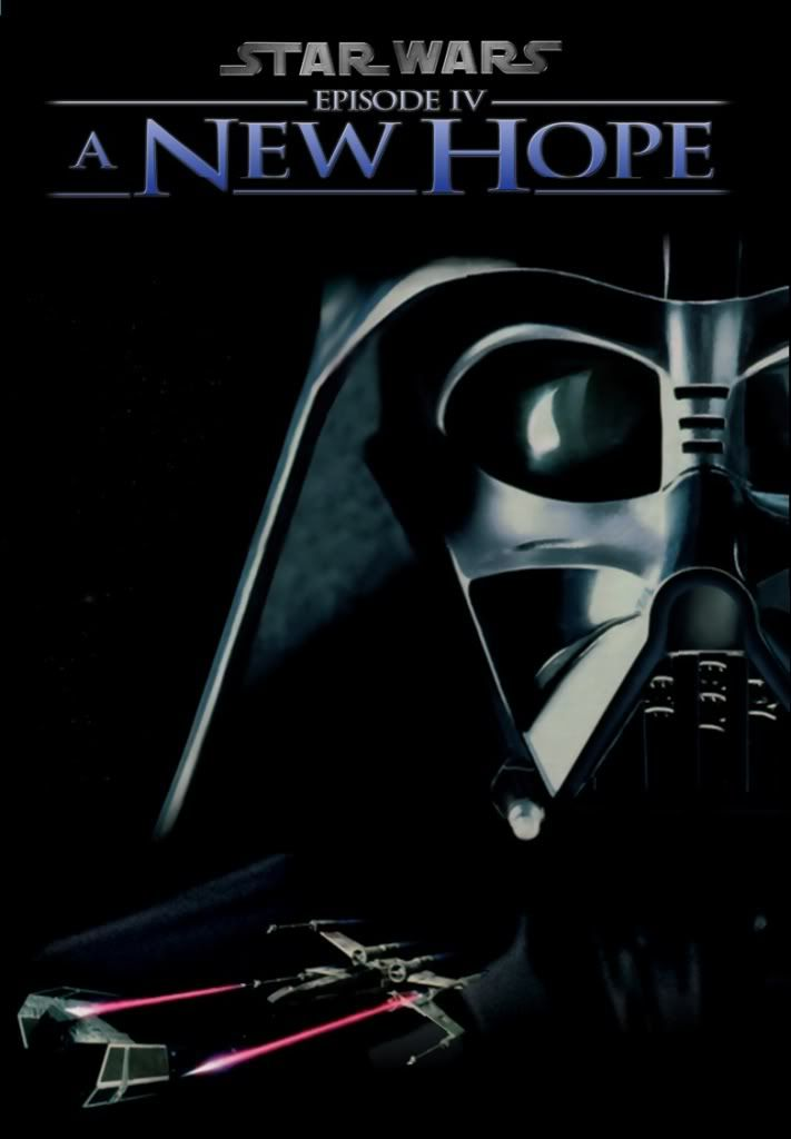 Star Wars Episode Iv A New Hope Dvd Cover Darth Vader Episode Iv Star Wars Episode Iv Star Wars