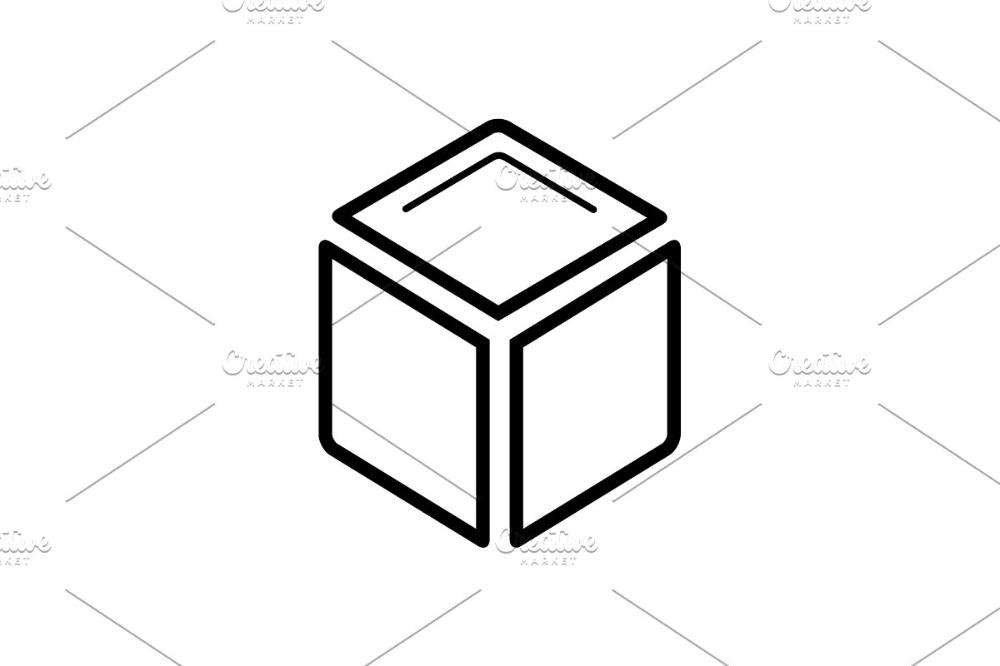 3d Cube Icon 3d Cube Cube Icon
