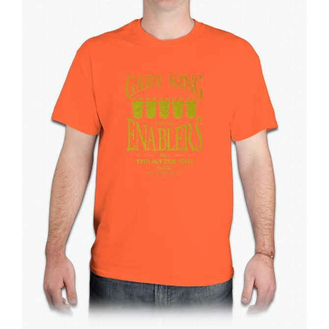 Gary King and the Enablers - Mens T-Shirt