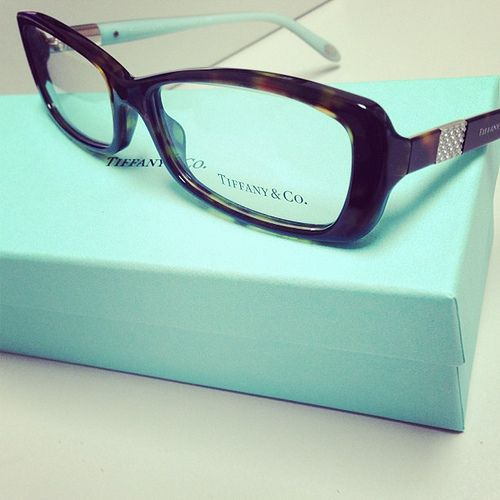 bb662be6859 New for 2013 - Tiffany   Co. Eyeglasses and Sunglasses. This is TF 2070b  color 8015 Dark Havana