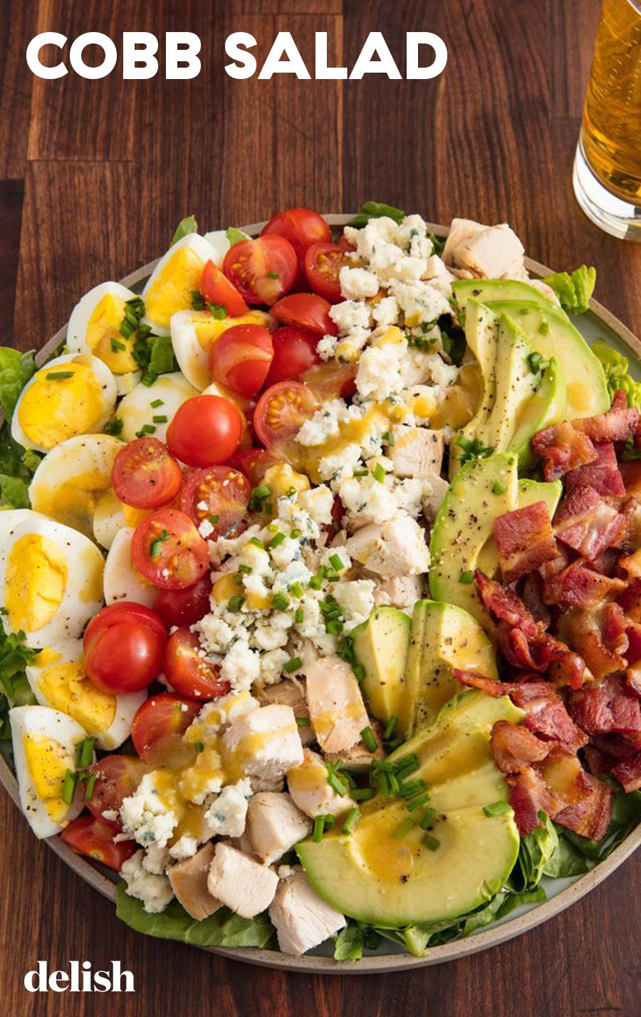 Avocado-Chicken Cobb Salad Will Fill You Up All Day