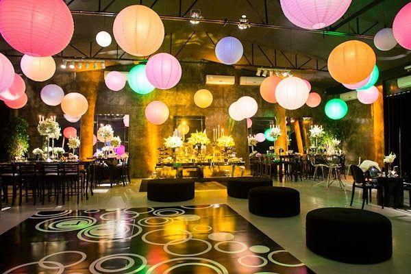 63f50d168b5b2 Ideias de como usá-las na decoração de festas Lanternas Chinesas Casamento