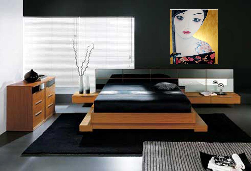 Arredamento Giapponese ~ Arredamento interni pittura ad olio quadri pittura giapponese