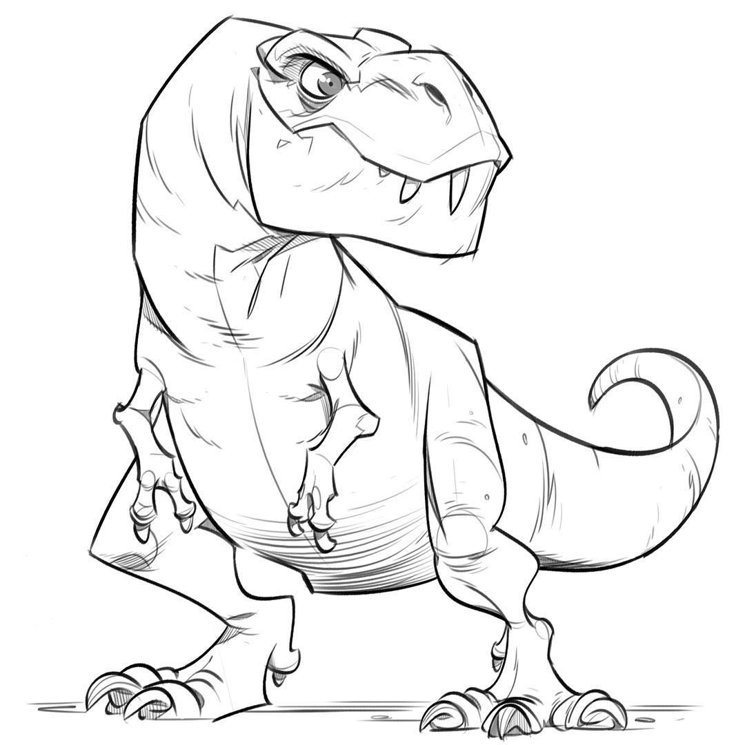Morning T Rex Warmup