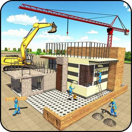 Modern House Construction 3D V1.0 Mod Apk