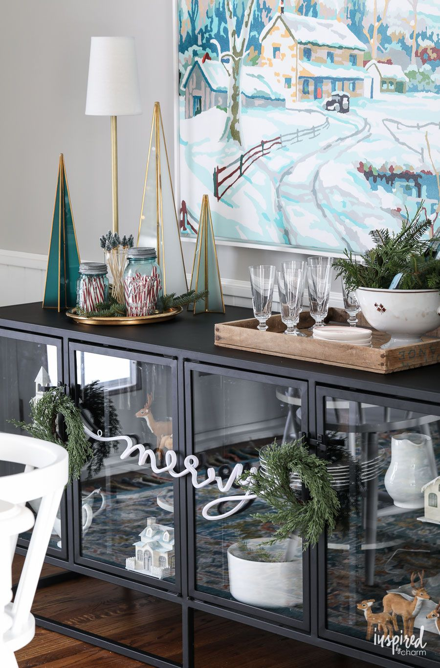 christmas at bayberry house holiday home tour with color christmas rh pinterest com