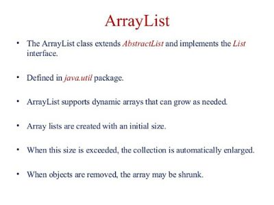 Java67: How to get first and last elements form ArrayList     | java