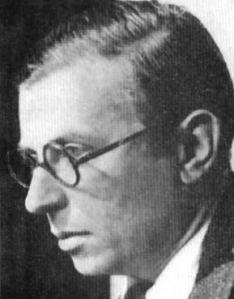 Jean-Paul Charles Aymard Sartre (Paris, 21 de Junho de 1905 — Paris, 15 de Abril de 1980) foi um filósofo, escritor e crítico francês, representante do existencialismo. Acreditava que os intelectuais têm de desempenhar um papel ativo na sociedade. Era um militante, e apoiou causas políticas de esquerda com a sua vida e a sua obra || A liberdade é um tema recorrente em sua obra. Defende que o homem é livre e responsável por tudo que está à sua volta.
