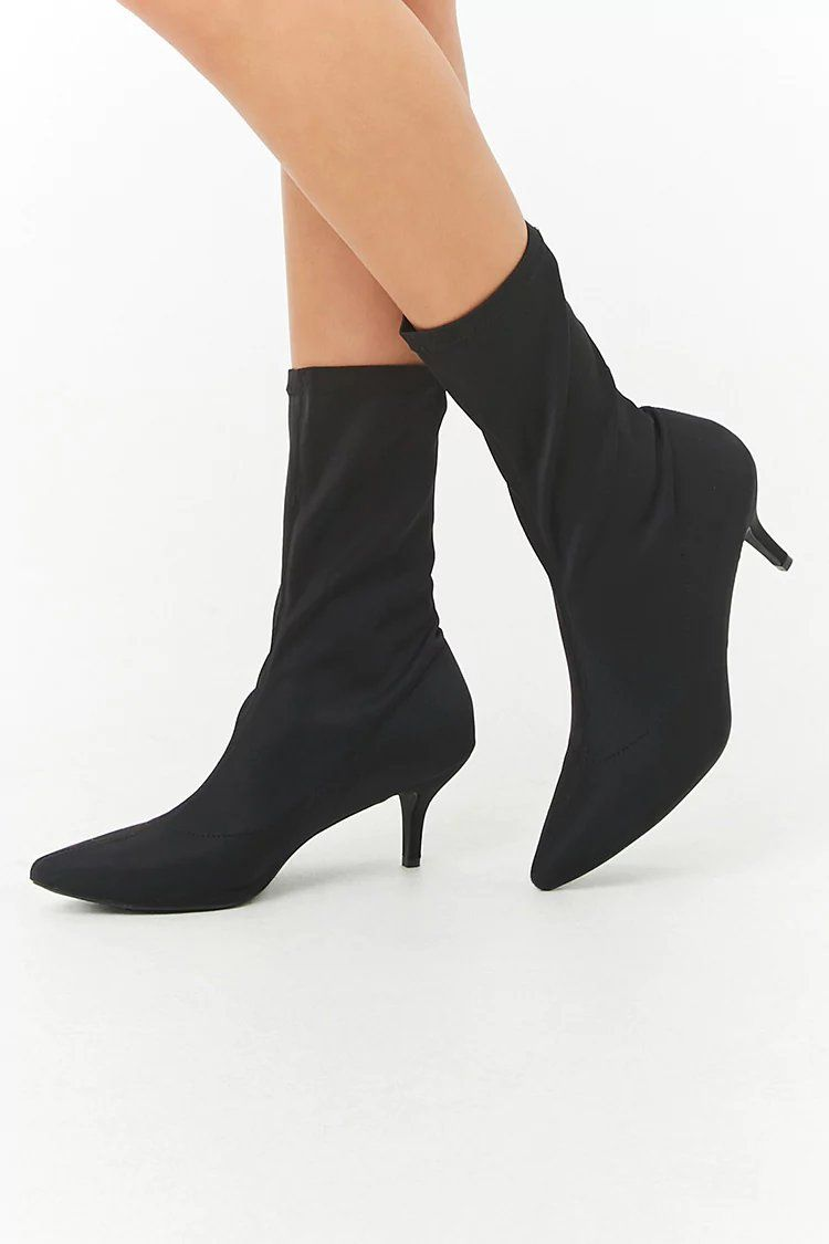 Product Name Kitten Heel Sock Boots Category Shoes Price 38 Boots Socks And Heels Heels