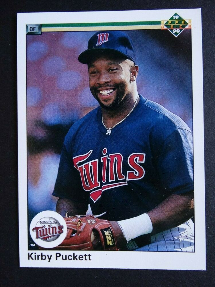 1990 Upper Deck 236 Kirby Puckett Minnesota Twins
