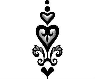 Heart Tattoo Design Body Design