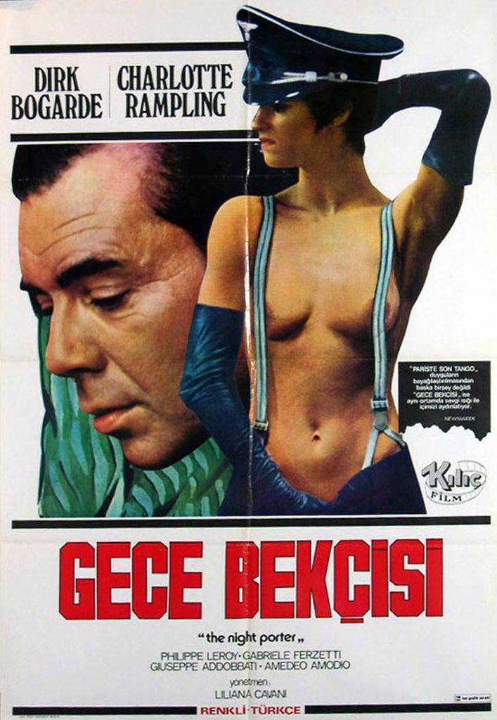 Turkish Film Poster The Night Porter 1974