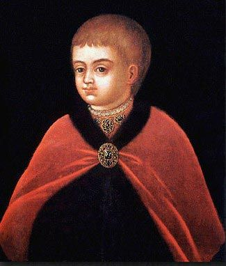 Unknown artist. Portrait of Peter I (the Great) as a child. Late 17th  century. #art #painting #Russian #Romanov | Peter the great, Greatful,  Portrait