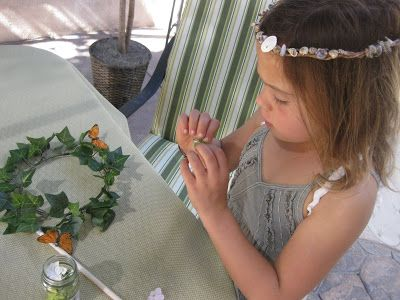 Pittsy's Place: Woodland Fairy Party: The Activities