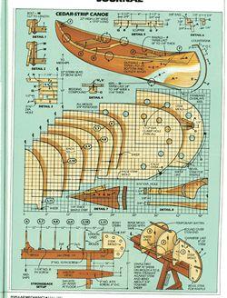 Canoe Cedar Free Plan Strip