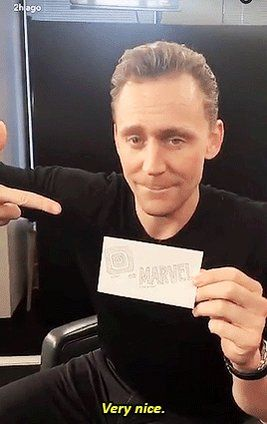 "Tom Hiddleston News This needs a shirt saying ""Tom Loves @Marvel""! https://t.co/tnnNC5rGVP"