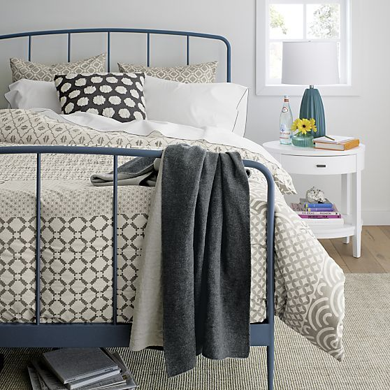 sereno neutral hand blocked bed linens crate and barrel home rh za pinterest com