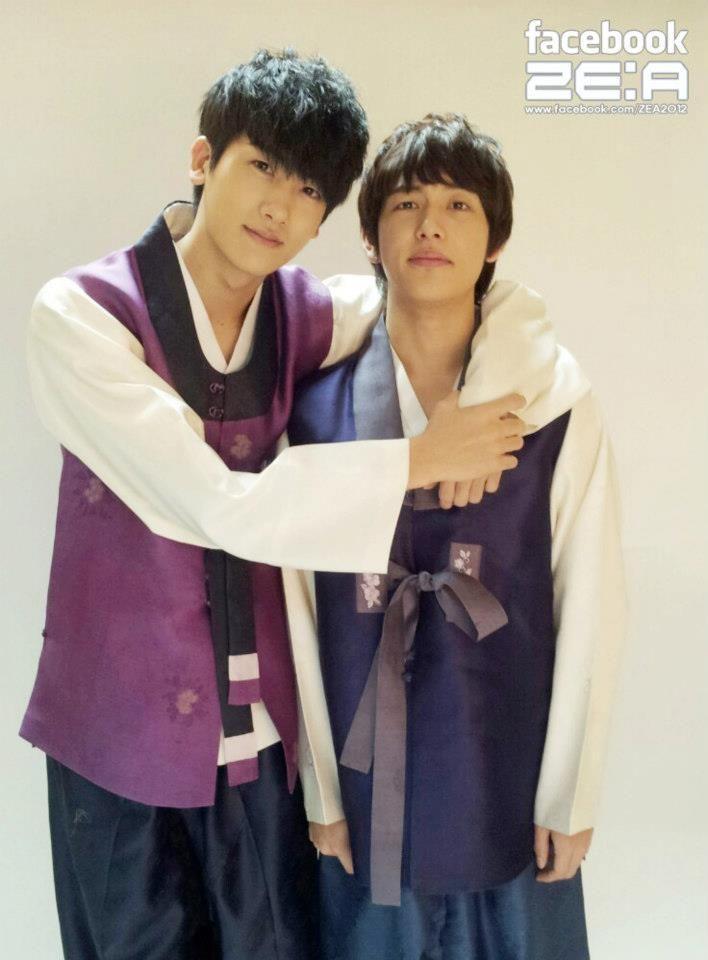 Resultado de imagen para park hyung sik y lim siwan