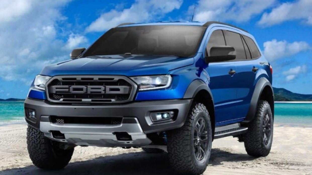 2021 Ford Everest New Concept In 2020 Ford Suv Ford Ranger