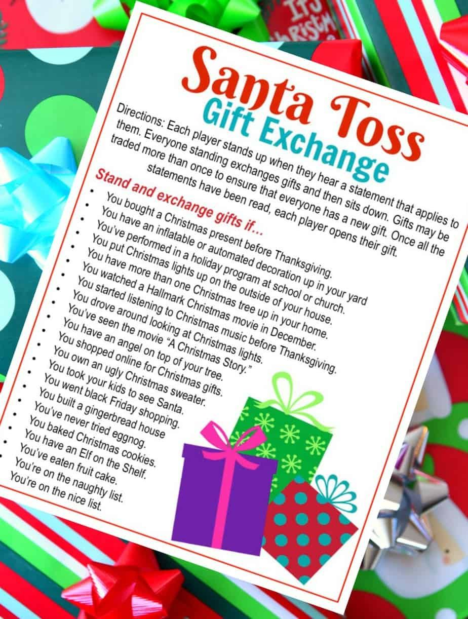 5 Awesome Holiday Gift Exchange Games to Play   Christmas gift games, Christmas gift exchange ...