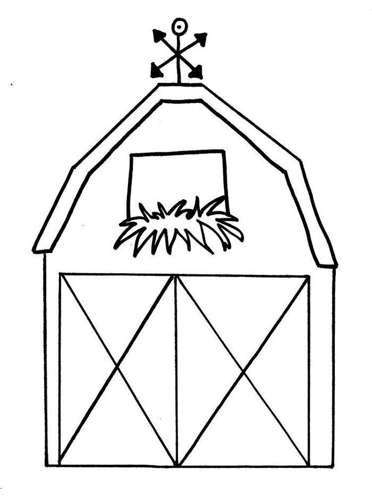 Barn Coloring Pages For Preschoolers The Barn Is Structures Used For Storage Of A In 2020 Farm Animal Coloring Pages Farm Coloring Pages Free Printable Coloring Pages