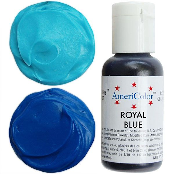 Royal blue gel paste food coloring with superior coloring ...