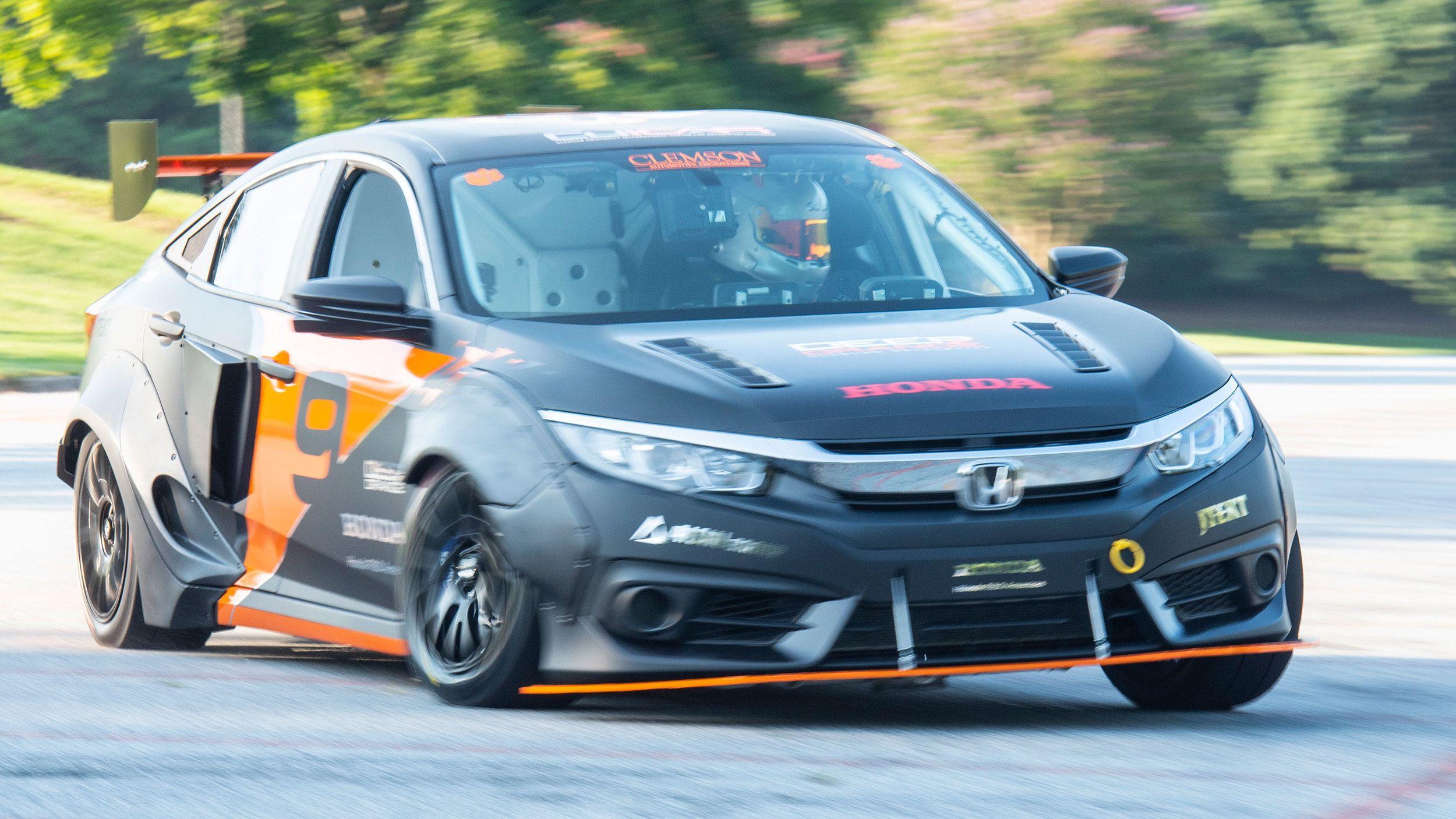 2018 Honda Civic Deep Orange 9 Top Speed Honda Civic Honda Civic