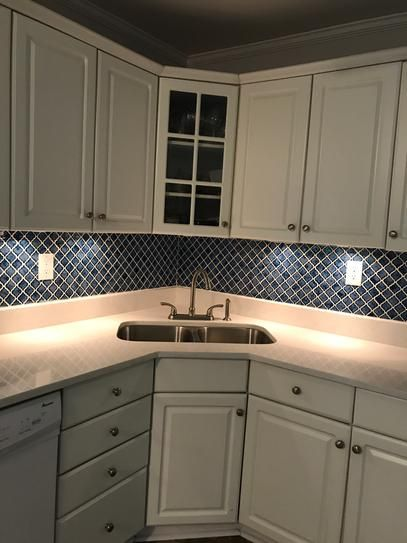 Merola Tile Hudson Tangier Sapphire 12 in. x 12 in