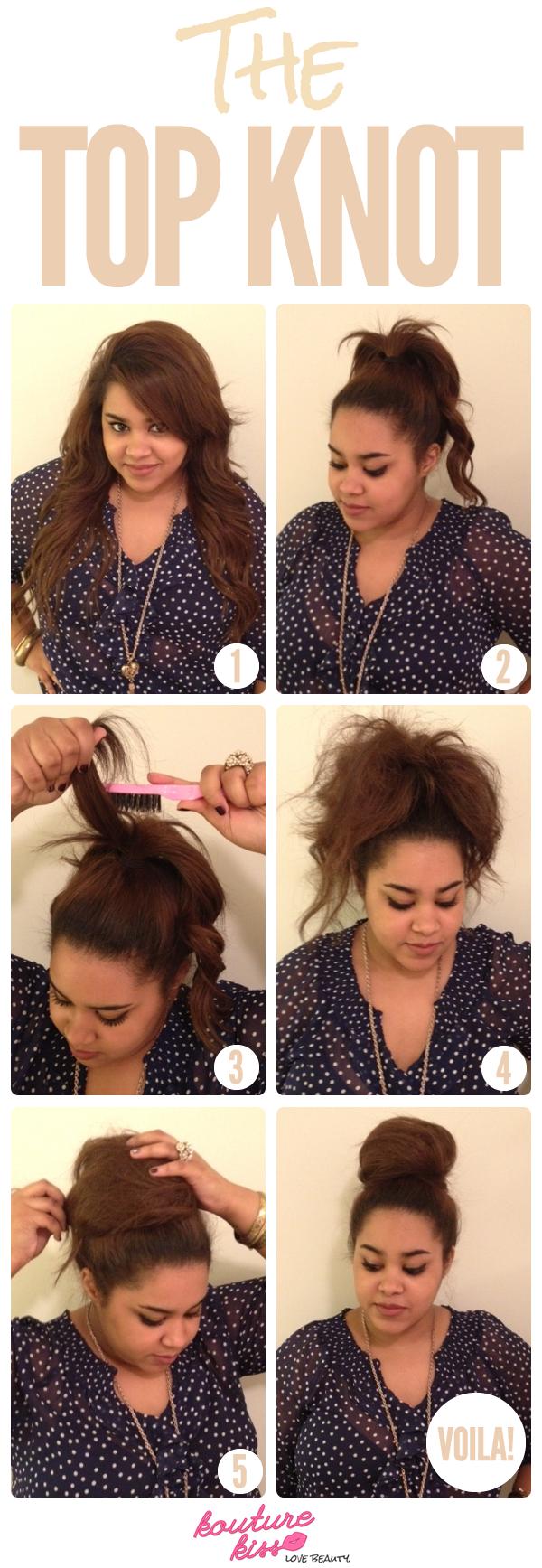 ways to take your top knot game to the next level hair style