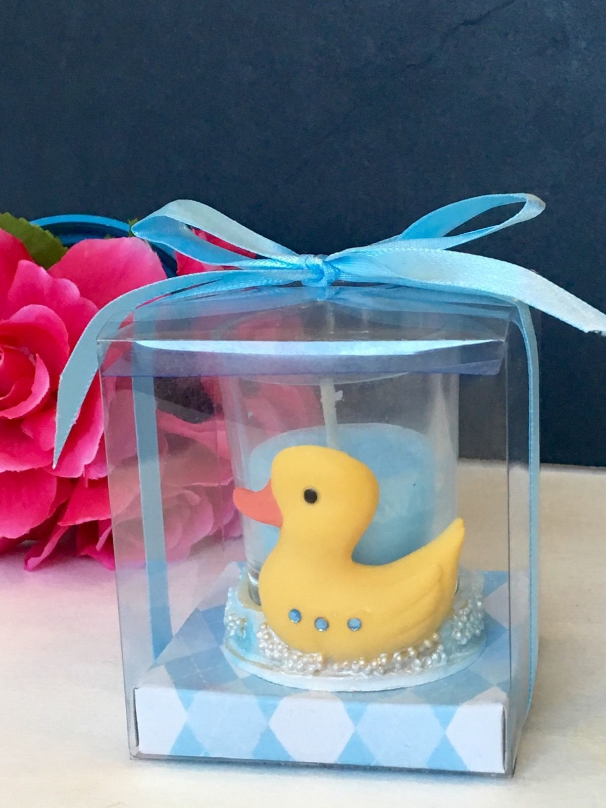 details about 12 baby shower table decorations duck candles party rh pinterest com